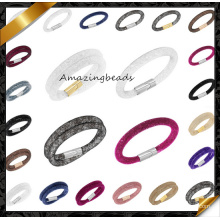 2015 Fashion New Design Mesh Stardust Magnetic Bracelet for Women (FB0123)