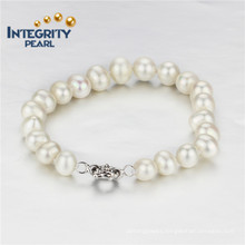 8mm AA Potato Natural Freshwater Pearl Bracelet
