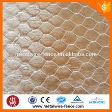 Malla de alambre hexagonal (galvanizada)