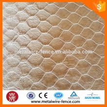 Malha de arame hexagonal (galvanizada)