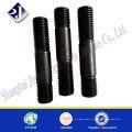 Fornecedor de China parafuso de parafuso de rosca de cabeça dupla de aço carbono