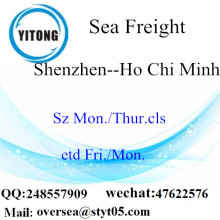 Shenzhen Port LCL konsolidering till Ho Chi Minh