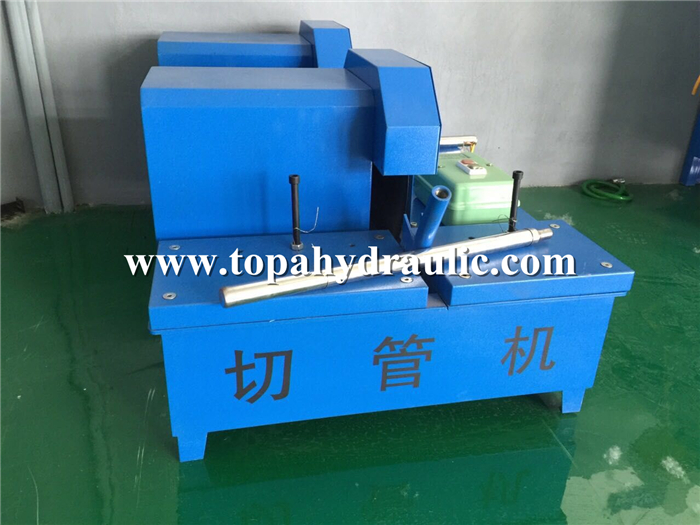 30D parker hydraulic hose cutting equipment