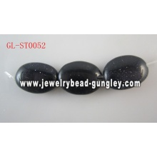 Natural Gemstone Blue Sandstone beads