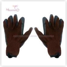 21Gauge Nitril-Handfläche beschichtet / getaucht Baumwolle Arbeitssicherheit Garten Handschuhe