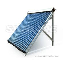 Eau chaude solaire tubulaire à évacuation entièrement vitrée avec tuyau de chaleur (CHAUFFE-EAU SOLAIRE, ISO9001, KEYMARK SOLAIRE, CE, SRCC, EN12975)