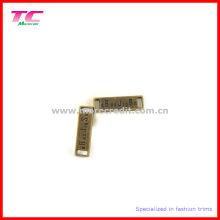 Анти-латунная металлическая пластина для одежды