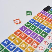 Kreative, hochwertige, Zeichen, Zeichen, Papier, Kühlschrankmagneten