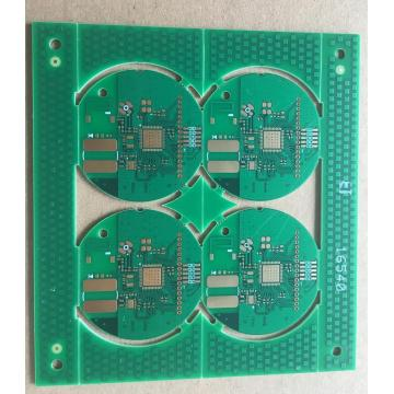 4 layer 0.8mm matt green solder ENIG PCB