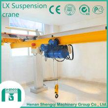 Grúa de puente del motor de la sola suspensión del haz del modelo de Lx 10 toneladas