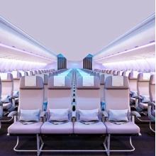 Productos de aluminio para asientos de aviones
