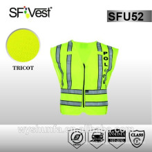 reflective clothing high visibility vest for workwear