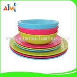 BSCI Audit factory Customized LFGB standard melamine tableware dinner set