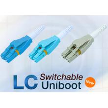 LC Uniboot Glasfaserstecker