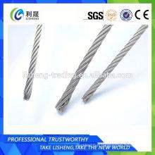 Corde à fil d'acier au carbone 7 * 7