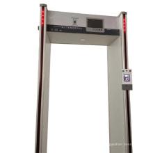 Porta de segurança para medição automática da temperatura do corpo humano