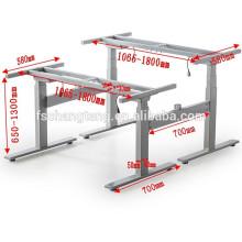 Automatischer, stehender Bürotisch, höhenverstellbarer Arbeitstisch
