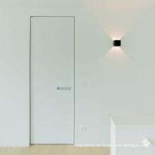 Puertas interiores invisibles con manijas modernas