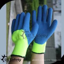 SRSAFETY 7G Акриловый подгузник для лайнера с латексным покрытием для перчаток