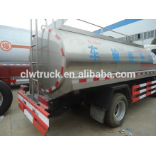 5000L Dongfeng stainless steel truck milk tank