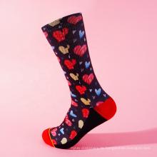 Lovers umweltfreundlich bedruckte Einheitsgröße für Socken