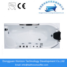 Hot New Products for Square Acrylic Bathtub Warm Water System stand alone soaker tub export to Japan Manufacturer