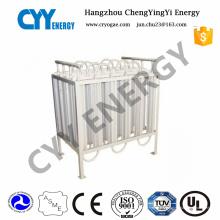 Vaporisateur d'oxygène liquide chauffé par air ambiant de haute qualité