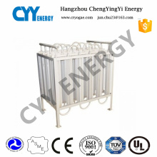 Cryogenic Liquid LNG Gas Air Heated Ambient Vaporizer
