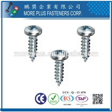 Made in Taiwan M2.6X6 Salt Spray Philips Drive Pan Head Self Tapping Screws