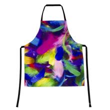delantal de cocina sin mangas moderno trabajador de encargo de la moda