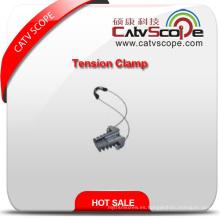 Abrazadera de anclaje de abrazadera de tensión de cable de fibra óptica Csp-08 ADSS de alta calidad
