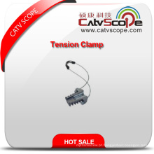 Braçadeira de tensão de cabo de fibra óptica ADSS de alta qualidade Braçadeira de âncora
