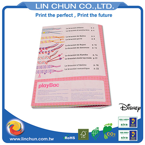 High quality brochure printing with offset printing