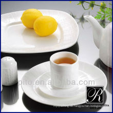 P & T Porzellan Fabrik heiße Verkäufe Porzellan Abendessen Platte