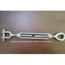 China fabricação Rigging U. S. tipo olho & gancho tensor, gota forjada, prendedor