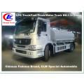 Heavy Duty Sinotruk HOWO 266HP 4X2 Caminhão de água 10000L Caminhão de rega Caminhão de pulverização de água HOWO Caminhão de rega de água