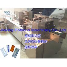 Les lingettes humides de cachetage latéral complètement automatiques de haute qualité 3 fabriquent des machines