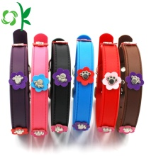 Mode Silicone Pet Collar Flower Dog Training Collar
