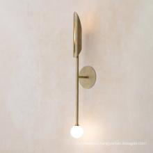 Modern newest design luxury metal gold wall lights Modern indoor bedroom led sconce hotel hallway