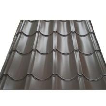 Hoja acanalada galvanizada color de acero de la teja PPGI de la teja