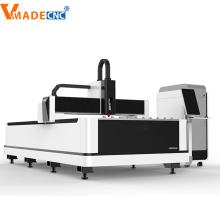 Máquina de Ctting láser de fibra de 1KW de chapa
