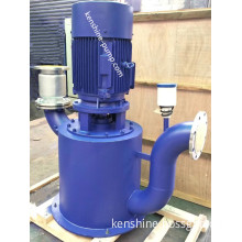 WFB Self priming vertical sewage chemical pump
