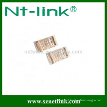 Plugue modular Netlink 8P8C RJ45
