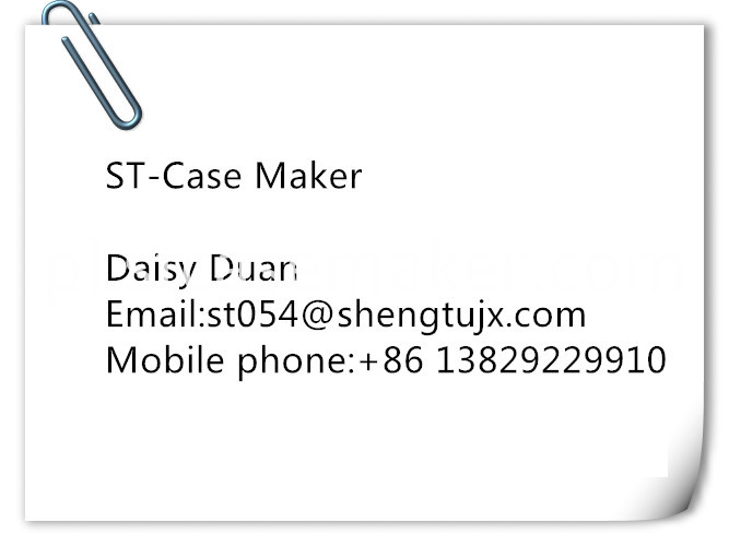 ST Case maker business card