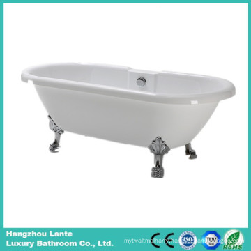 Acrylic Simple Bathtub with Four Claw Feet (LT-18T-2)