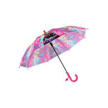 Auto Open Children Poe Umbrella for Girls′ Gift