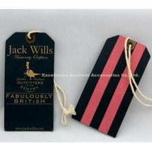 Fabulously British Cardboard Clothing Tag