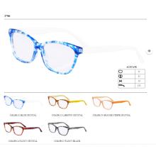 2015 hotsell avec ressort charnière femmes acétate prêt lunettes cadre optique