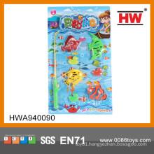 Popular kids plastic toy fishing rods