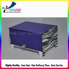 Good Quality Luxury Purple Perfume Gift Box